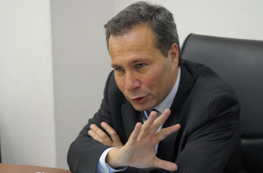 Alberto Nisman speaking at a news conference in Buenos Aires, Argentina, May 20, 2009. (Juan Mabromata/AFP/Getty Images)